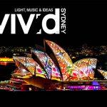 光と音楽の祭典Vivid Sydney